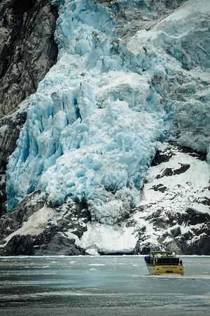 Viewfinder, Northwest Glacier, Kenai Peninsula, Alaska