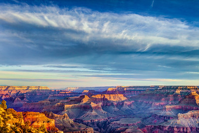 Sunrise at Yaki Point - HDR