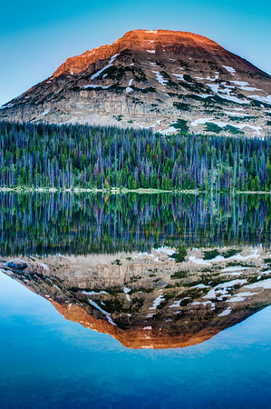 Bald Mountain from Mirror Lake