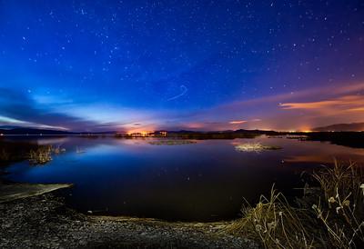 Bear River East Sunset