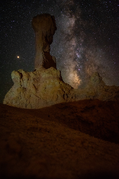 Milky Way at Bryce Canyon, Utah