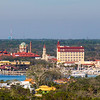 Downtown St Augustine - taken from top of lighthouse