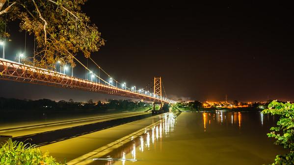 Continental Bridge at Night