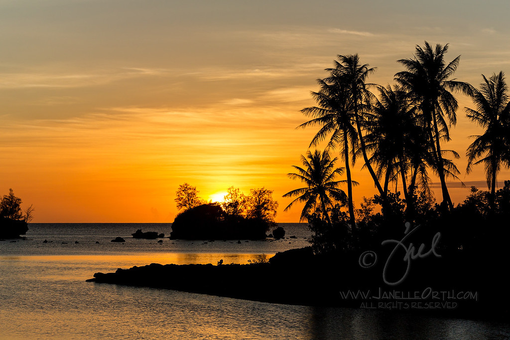 Islands at Sunset  ©2016  Janelle Orth