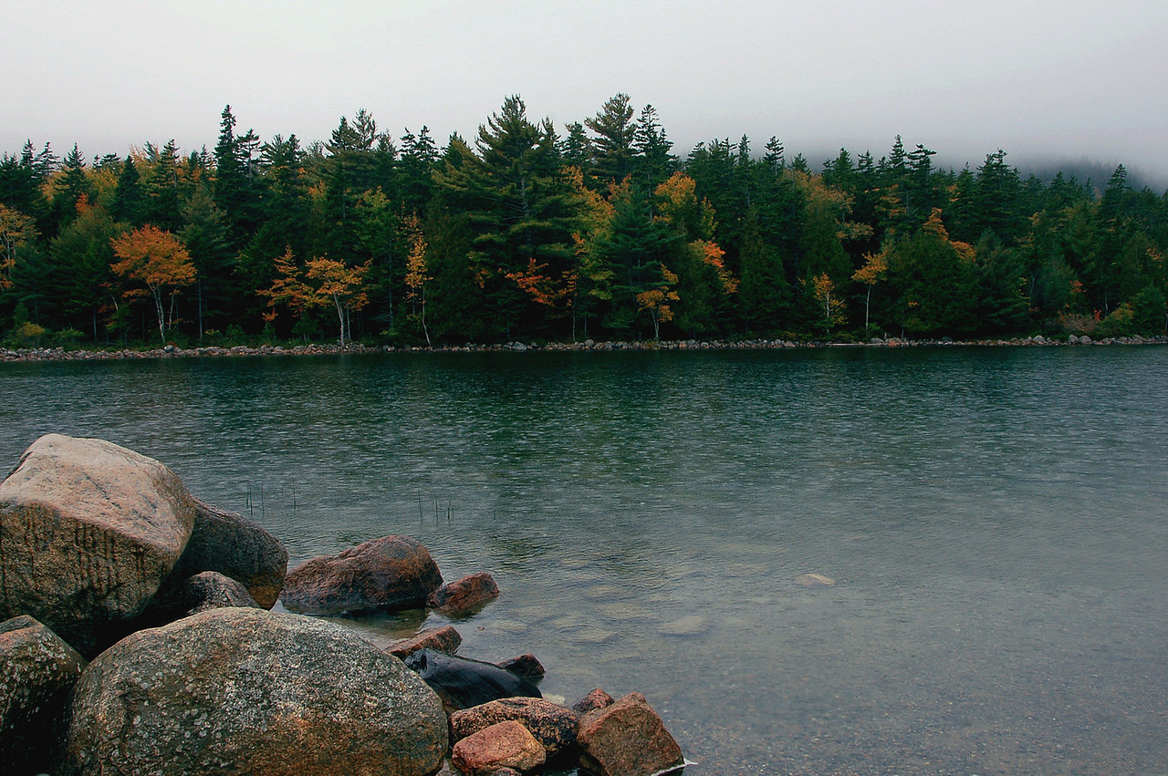 Jordan Pond, Maine by Beata Obrzut