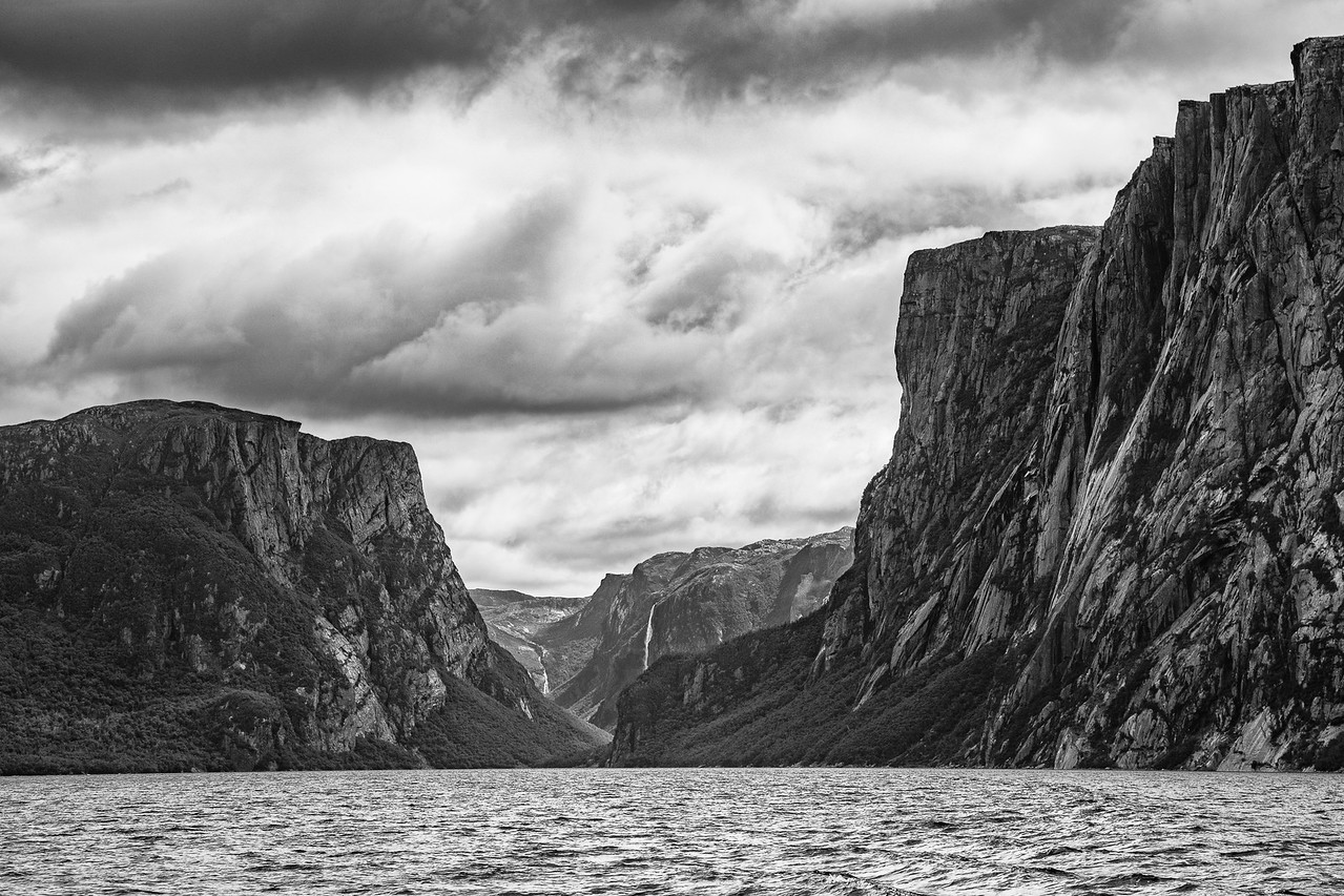 Western Brook Pond Fjord, Newfoundland