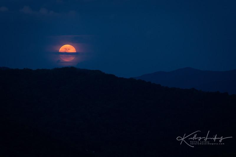 Blue Ridge Moonrise