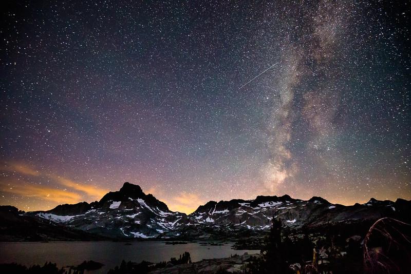Milky Way over Thousand Island Lake (July 2016)