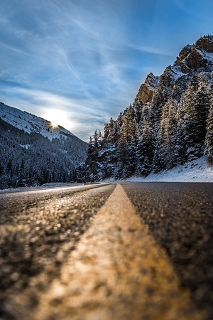 Big Cottonwood Canyon Road, Utah