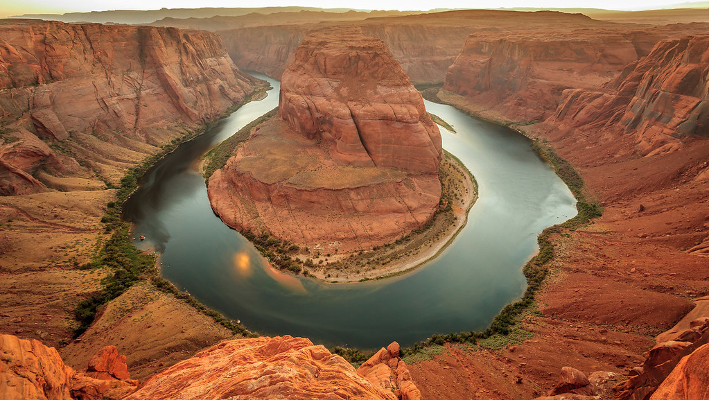 Horseshoe Bend on the Colorado River near Page, A