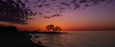 Sunset over Lake Ontario