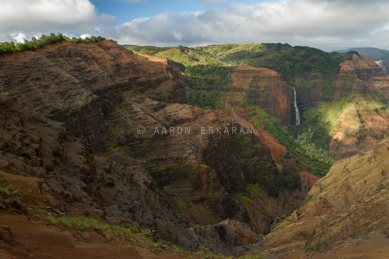 Waimea Canyon with Waipo`o Falls