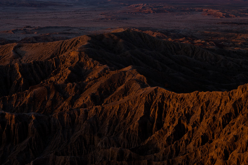 Sunrise at Font's Point