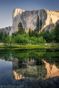 Morning Reflections in Yosemite