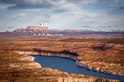 Three Flues over Lake Powell