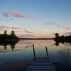 Dock at Pink lake