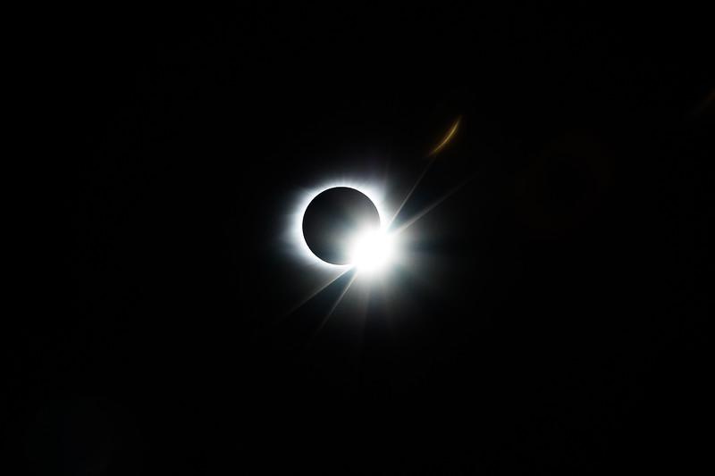 Solar Eclipse over Nashville, Tennessee