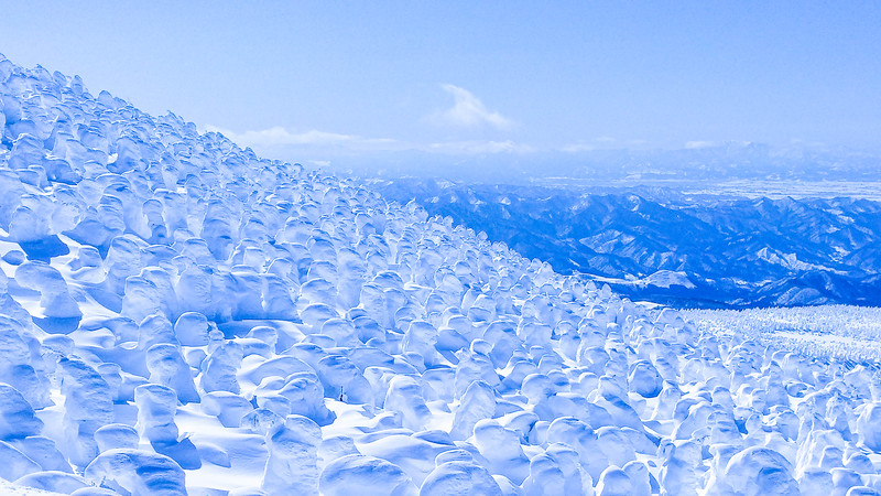 Snow Monsters in Zao, Yamagata