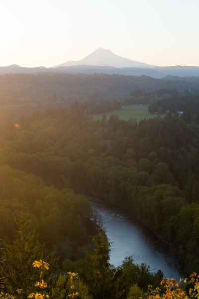 Mt Hood at Sunrise (April 2019)