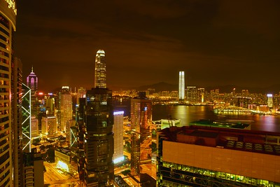 Hong Kong - Kowloon ... View from Hotel