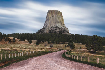 Devils Tower in a soft mood.