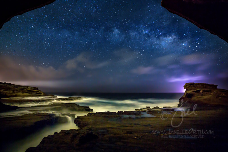 Oahu Milky Way  ©2016  Janelle Orth