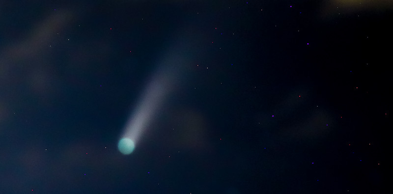 Comet Neowise photo by Phillip C Thalheimer