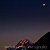 Moonrise over Mt Cook