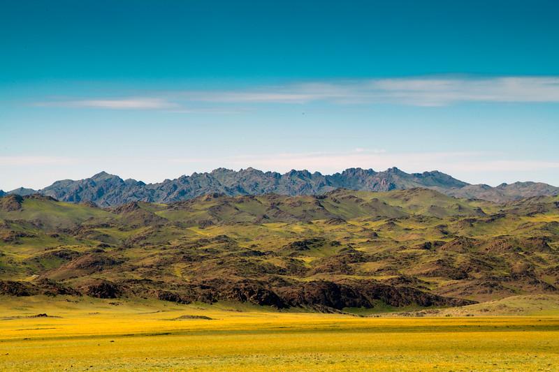 Morning In The Gobi Desert