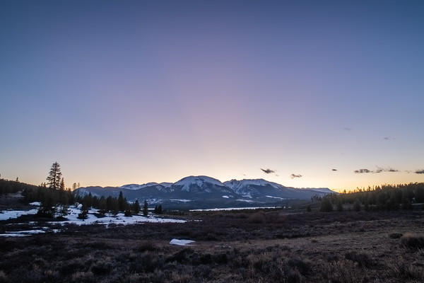 4-28-20 Mt. Buffalo sunset