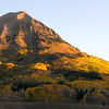 Sunrise on Mt. Gothic outside Crested Butte, Colorado