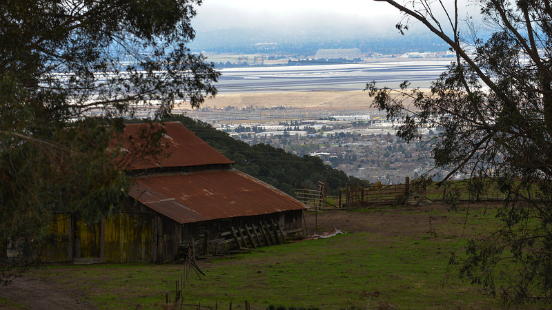 Vargas Plateau, overlooking Fremont