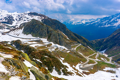 Mount S. Gotthard, Swiss Alps, Switzerland