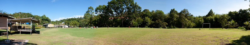 SK Nanga Ajau football field - Panorama stitched from 12 images, 82 Megapixels, 100MB file size