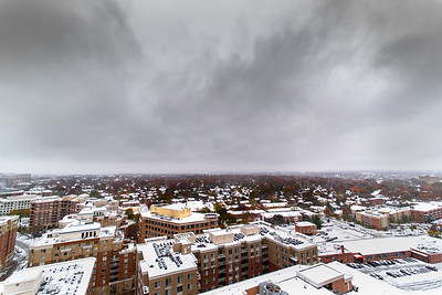 Ballston in the Snow