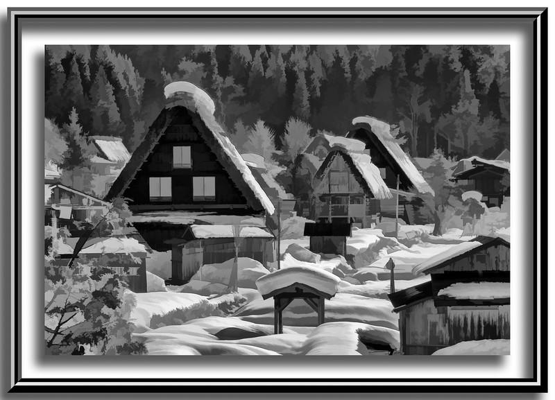 Shiragawa-go in winter