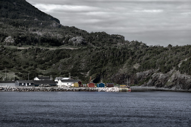 Fishing Shacks, Trout River, Newfoundland