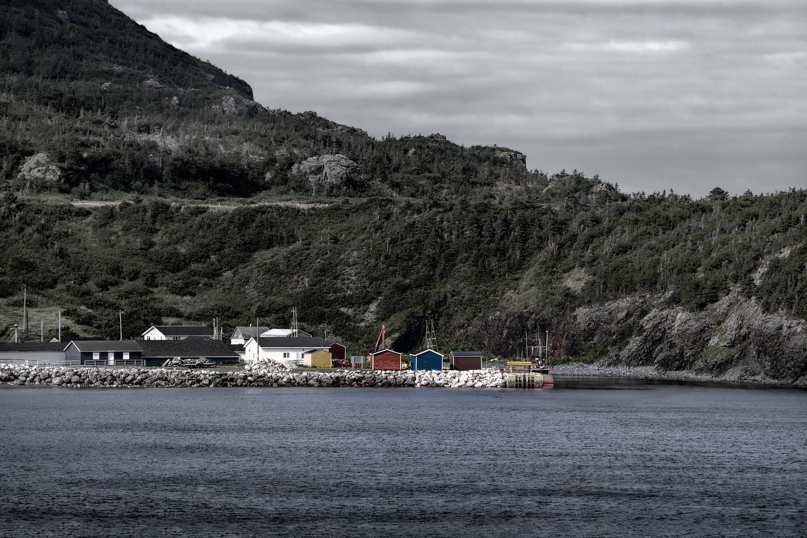 Fishing Shacks, Trout River, Newfoundland