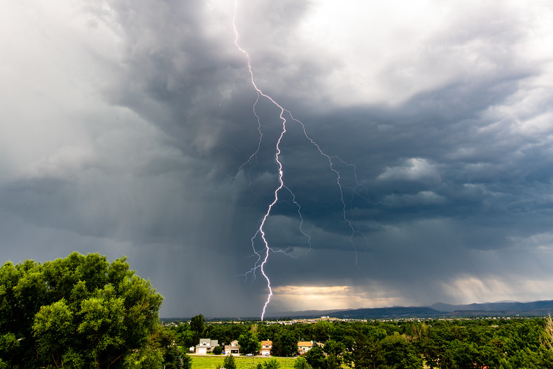 7-13-19 Lightning in Arvada