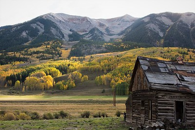 Cabin in the mountains of Colorado