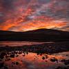 Sunset over Glenbrittle Beach