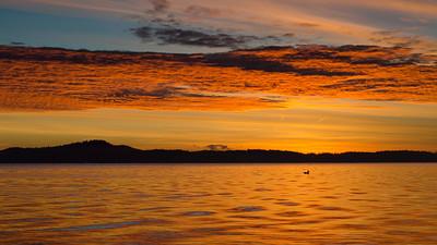 Cherry Point Sunrise (landscape)