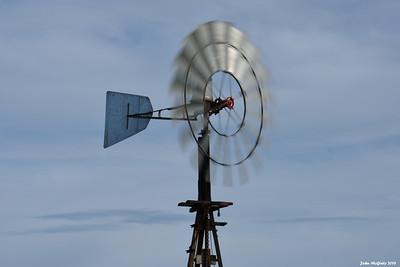 Waterpump windmill