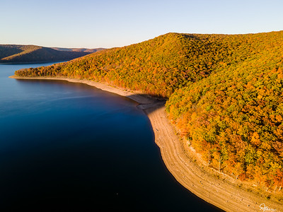 Allegheny Reservoir, Autumn 2020