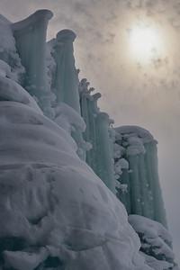 Frozen splashes