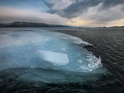 Baikal is melting