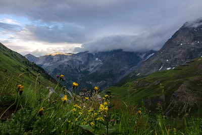 Sunset in the Eastern Alps