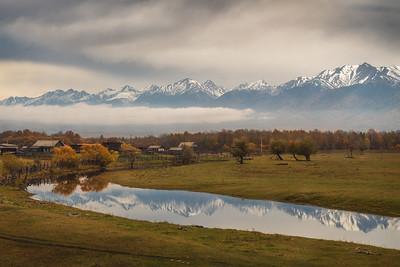 Rural sketches of Buryatia