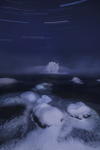 Under the winter stars