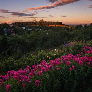 Summer evening in Vladimir